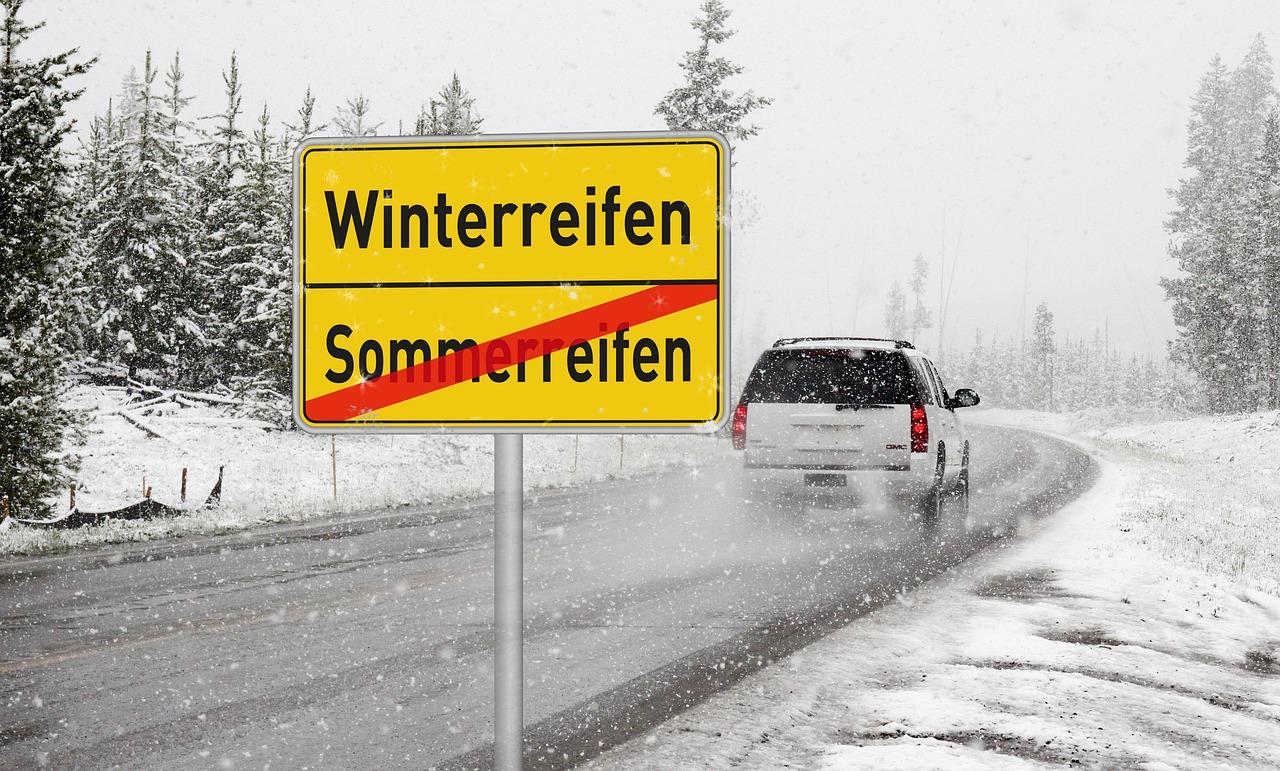 Les pneus neige en Allemagne  quelques règles